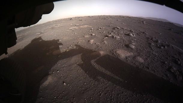 Das sind die ersten Bilder vom Mars