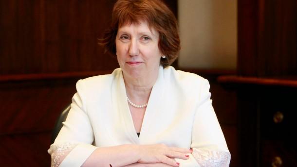 Ashton will Vermittlung in Kairo fortsetzen