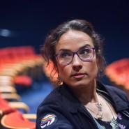 Die Rapperin Sookee, geboren 1983 als Nora Hantzsch in Pasewalk, engagiert sich gegen Homophobie und Sexismus im Hiphop.