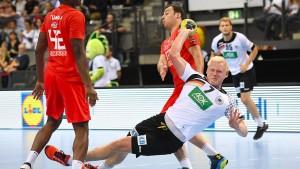 Deutsche Handballer gewinnen gegen Tunesien