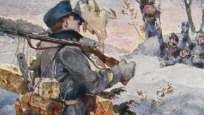Historisches E-Paper zum Ersten Weltkrieg: Weihnachtsfeier im Felde
