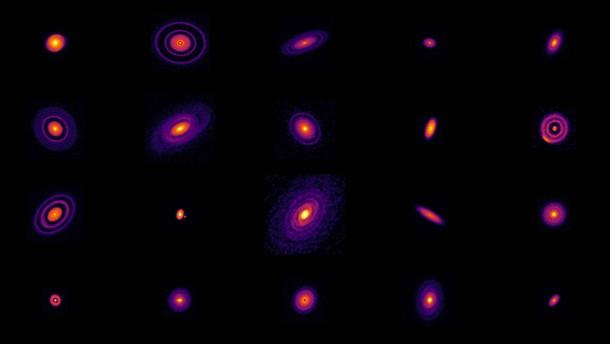 Ein Fotoalbum junger Sonnensysteme