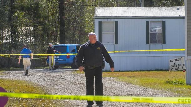 Fünf Tote durch Schüsse in Louisiana