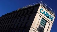 In Schieflage: Die Banca Carige.