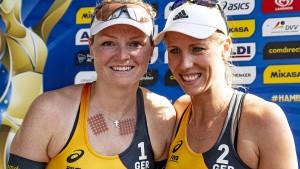 Deutsches Duo Borger/Sude schlägt amerikanisches Team