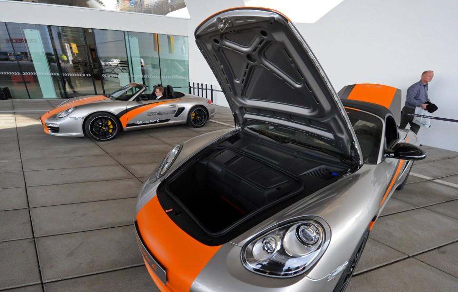 """""""Signalwirkung auf andere Hersteller und Kunden"""": Porsche erhielt knapp 2,9 Millionen Euro für die Umrüstung einiger Boxster-Modelle zu Elektroautos"""