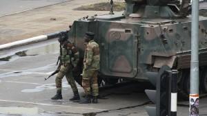 Militär erklärt Machtübernahme in Zimbabwe