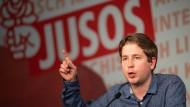 """Juso-Chef Kevin Kühnert bezeichnet sich selbst als """"Sozialist""""."""