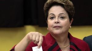 Präsidentin Rousseff muss in die Stichwahl