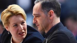 Die SPD lässt Maas zittern