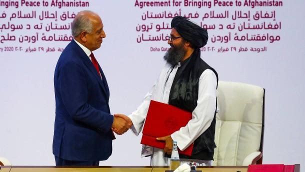 Trumps Taliban-Deal führte ins Desaster