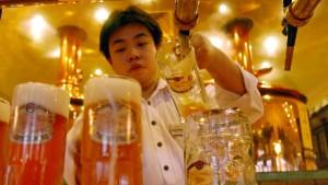 Deutsches Bier für China