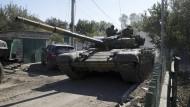 Kämpfe in Donezk werden heftiger