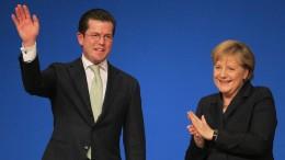 Guttenberg und sein Verhältnis zu Merkel