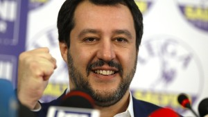 Matteo Salvini, der politische Wirbelwind