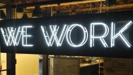 Das Start-up WeWork erobert Londoner Büros