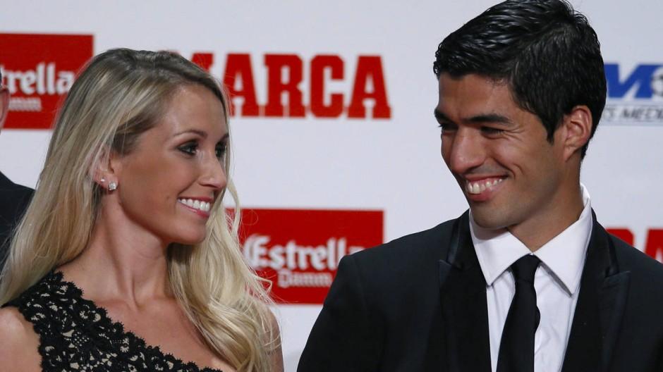 Suarez als bester Torschütze Europas geehrt