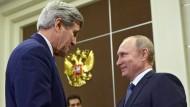 Kerry und Putin kommen sich näher