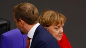 Wie Merkel mit kleinen Partnern umgeht