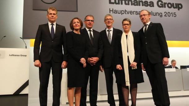 Aufsichtsrat genehmigt Lufthansa-Vorstand höhere Gehälter