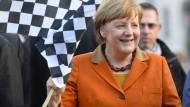 Merkel verteidigt Diesel-Autos als umweltfreundlich