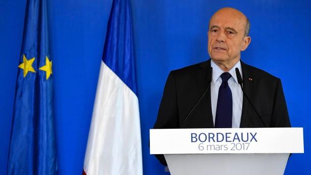 Juppé schließt Kandidatur bei Präsidentenwahl aus