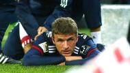 Nach Muskelfaserriss: Mehrere Wochen Pause für Thomas Müller