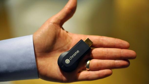 Google präsentiert seinen Funk-Stick