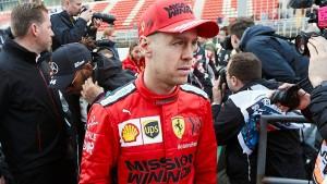 Vettel nur Zuschauer beim Formel-1-Start