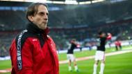 Zehn Spiele ohne Sieg: Bielefelds Trainer Rüdiger Rehm ist entlassen worden.