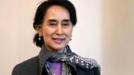 Aung San Suu Kyi (Archivbild aus dem April 2014)