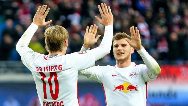 Leipzig schließt zu den Bayern auf