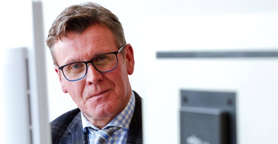 Nach dem Ermittlungserfolg: OFA-Leiter Andreas Müller