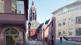 Frankfurts OB gibt den Krönungsweg frei