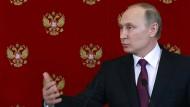 Putin rechnet mit weiteren amerikanischen Angriffen in Syrien