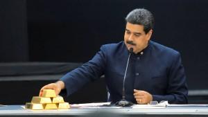 Kein Gold für Maduro