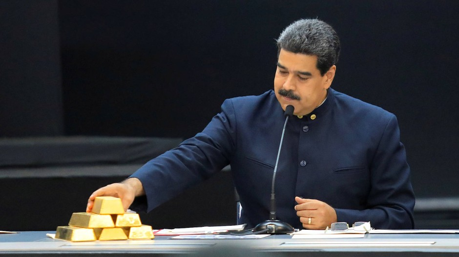 Kein Nachschub für Maduro: Die britische Notenbank wird ihm kein venezolanisches Gold auszuhändigen.