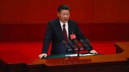 Präsident Xi Jinping warnt vor großen Herausforderungen