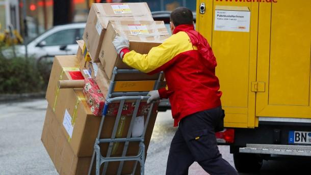 Koalition will Paketboten schützen und Wirtschaft entlasten