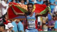 Ghebreslassie feiert Überraschungssieg im Marathon