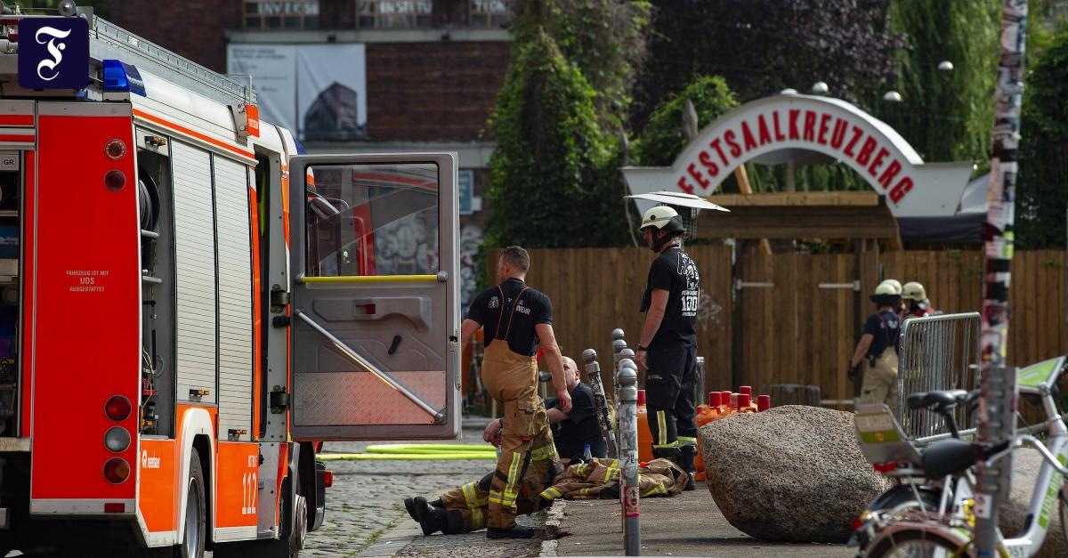 """Feuerwehr bemängelt Zustand: Berliner """"Club der Visionäre"""" ausgebrannt"""