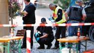 Attentäter von Ansbach bekannte sich zum IS