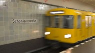 Der Tatort: U-Bahnstation Schönleinstraße