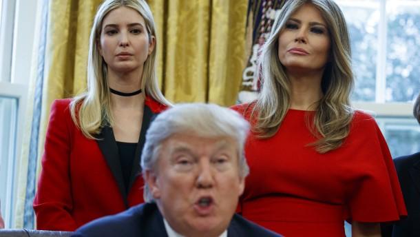 Ivanka Trump kritisiert Kurs ihres Vaters