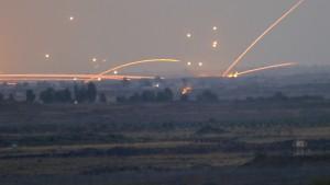 Israel bombardiert Ziele in Syrien