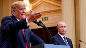 Trump will Putin erst Anfang 2019 treffen