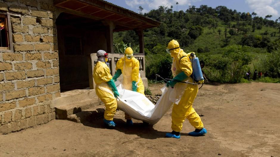 In Westafrika starben zwischen 2013 und 2016 rund 11.000 Menschen am Ebola-Virus. (Archivfoto von 2014)