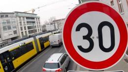 Hessische Kommunen lassen Fördergelder für Tempo 30 liegen