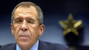 Lawrow: Wir sind nicht Assads Freund
