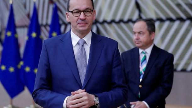 Auch Polen droht mit Veto gegen EU-Haushalt